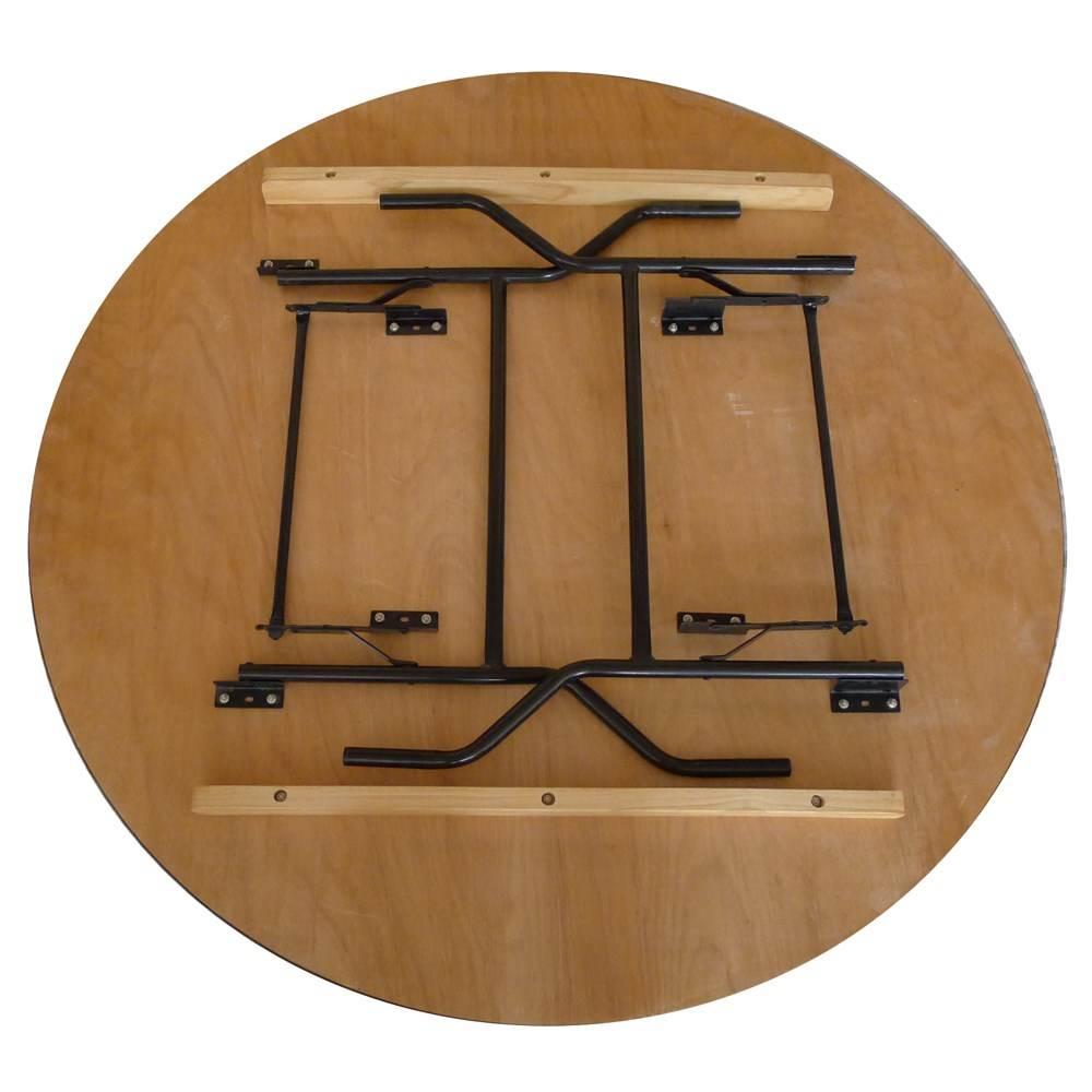 table pliante ronde traiteur dia 152cm 8 personnes. Black Bedroom Furniture Sets. Home Design Ideas