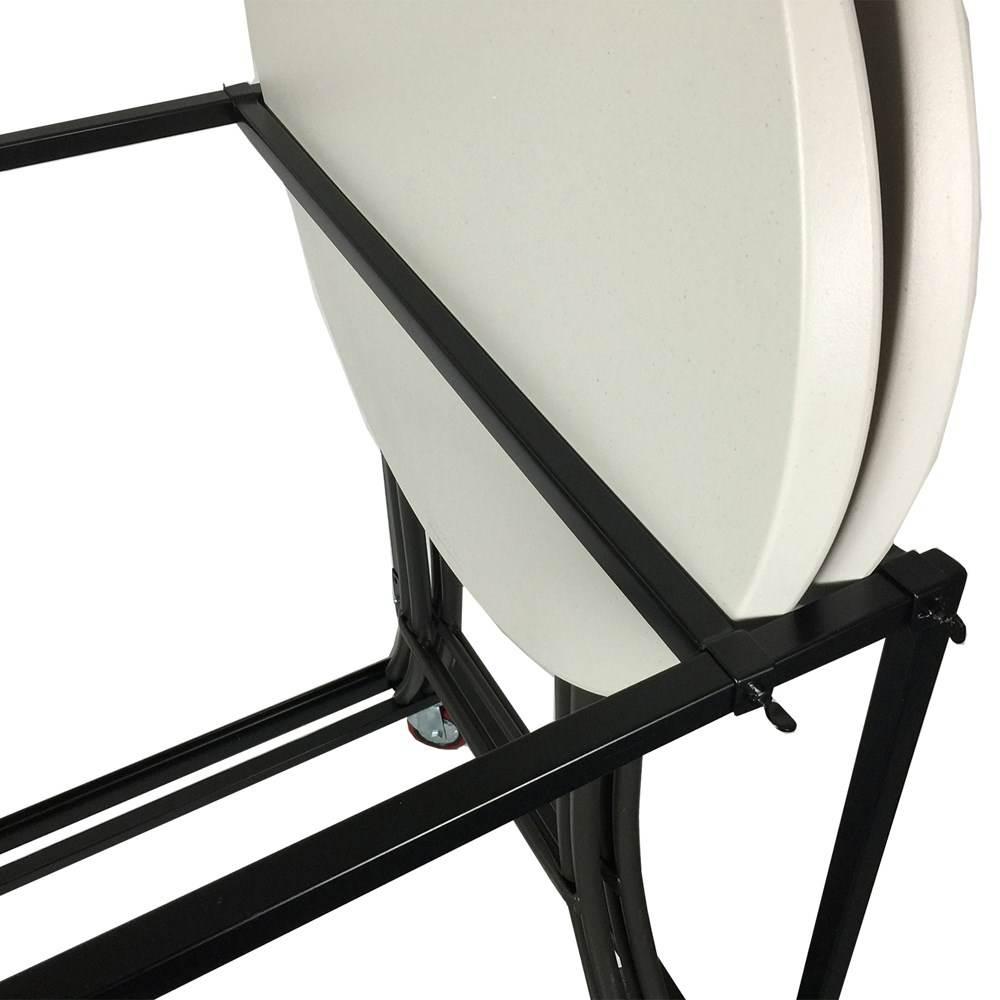 chariot pour table mange debout lifetime 80362 table pliante chariot de table. Black Bedroom Furniture Sets. Home Design Ideas
