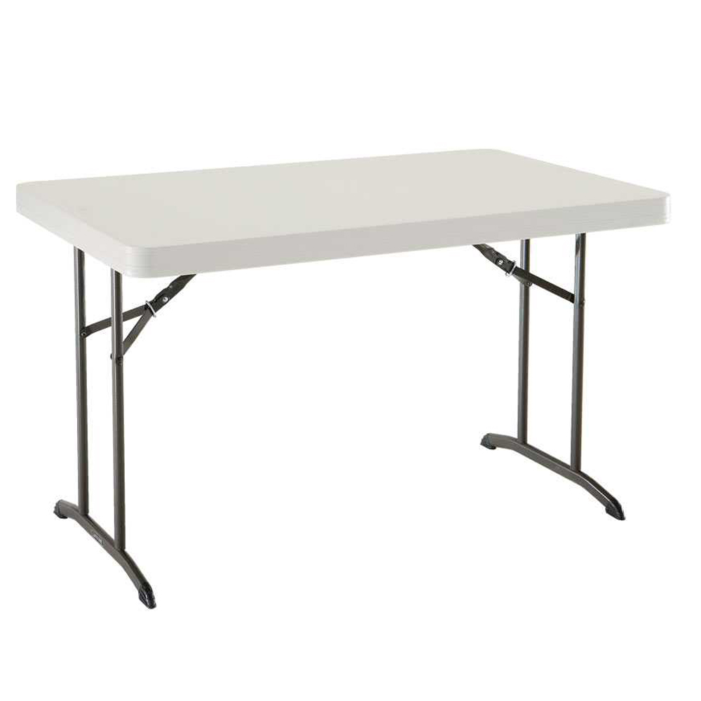 Table pliante rectangulaire 122cm 4 personnes table for Table pliante but