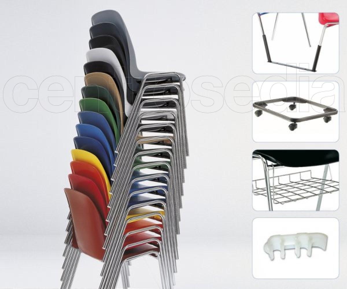 Coque Nombreux Pliante Empilable Coloris Chaise Et M4 Nn0wmOv8