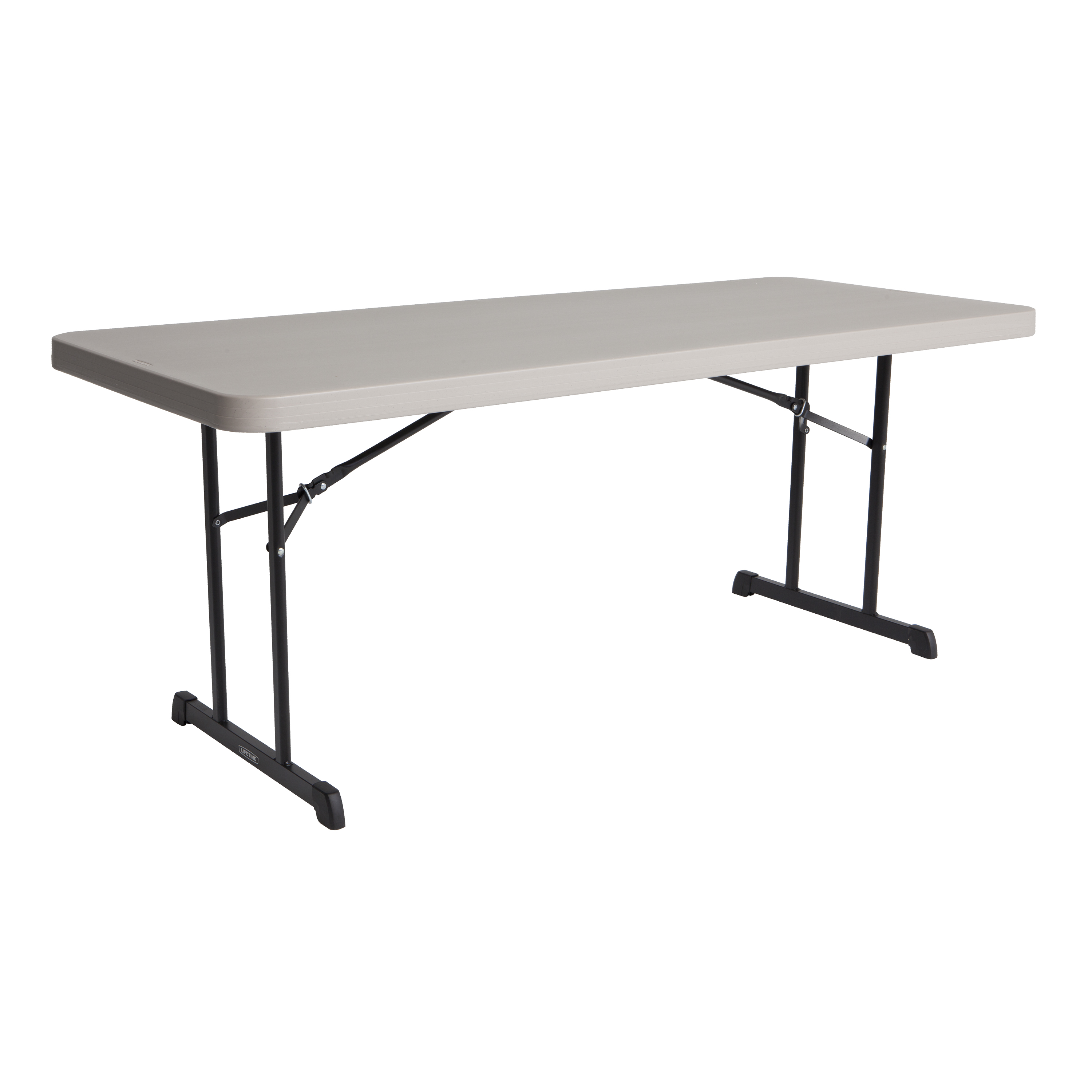 Table pliante rectangulaire 183cm (mastic) / 8 personnes