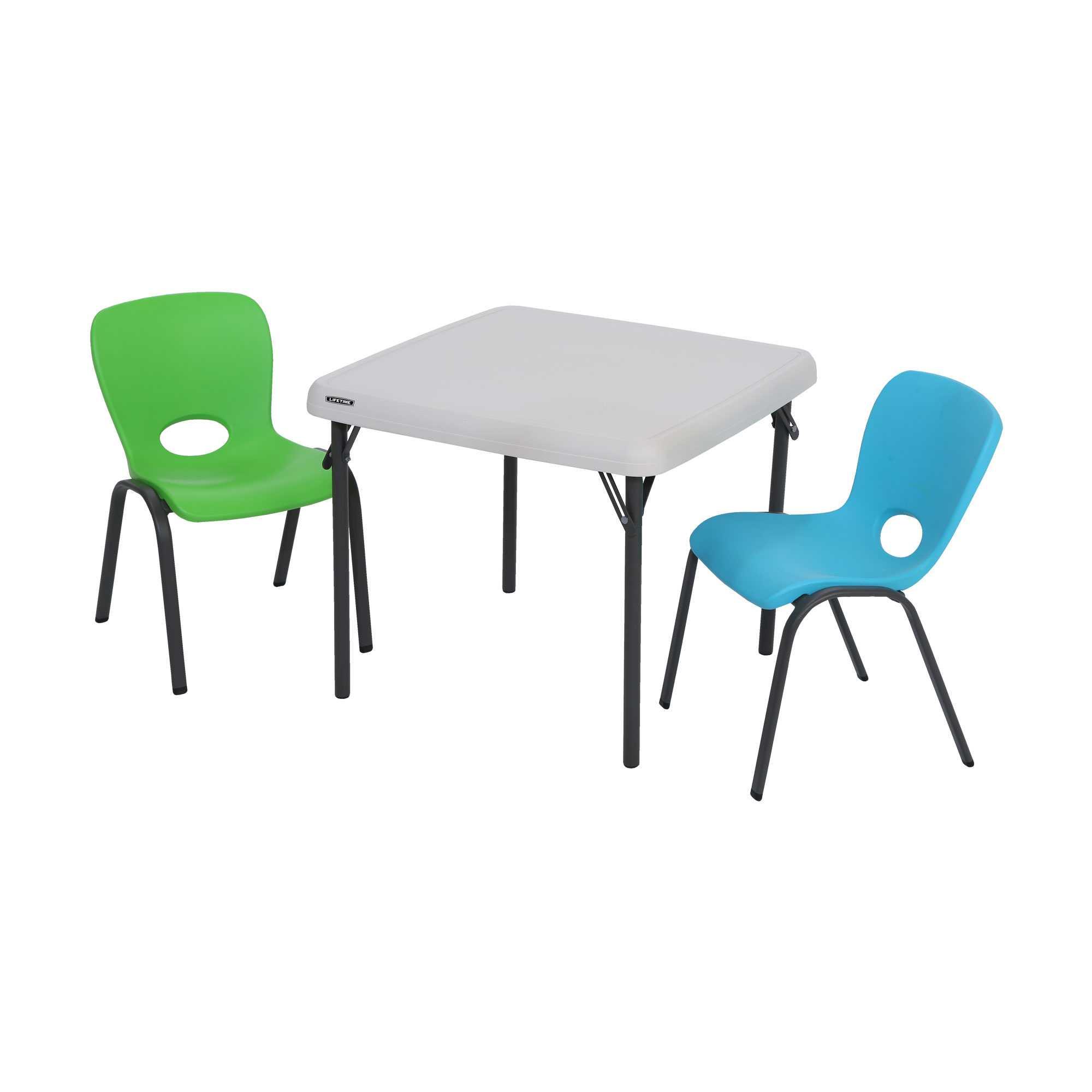 chaise enfant empilable bleu glacier chaise pliante et. Black Bedroom Furniture Sets. Home Design Ideas