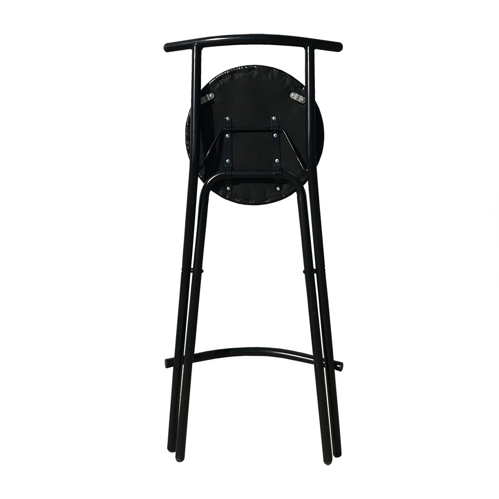 Tabouret Haut Pliant Noir Chaise Pliante Et Empilable