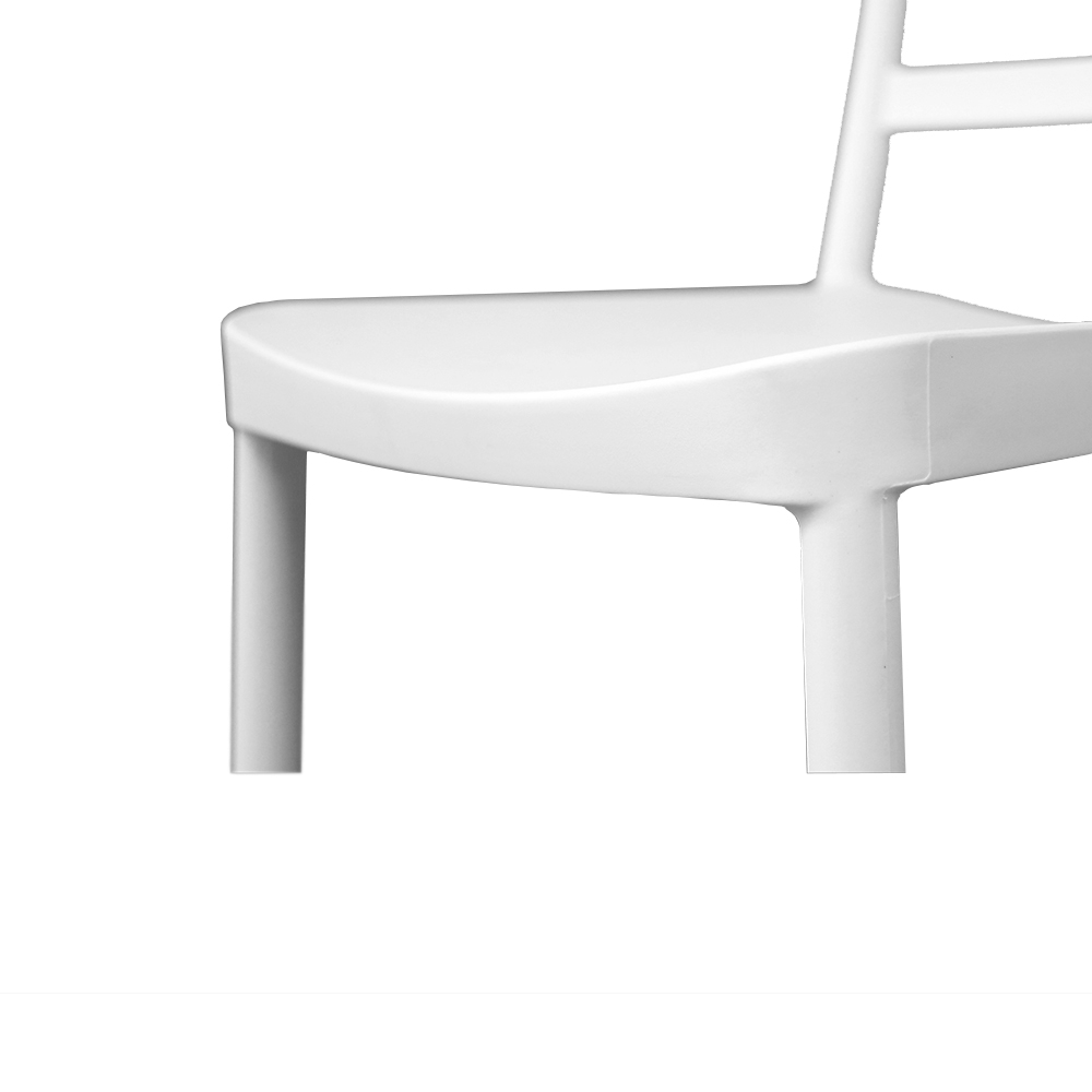 Chaise empilable BERLIN / Blanc