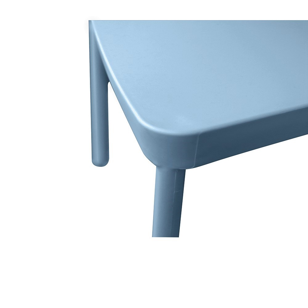 Chaise empilable BERLIN / Bleu Gris pale
